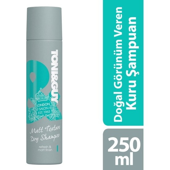 Toni&Guy Doğal Görünüm Kuru Şampuan 250 ml