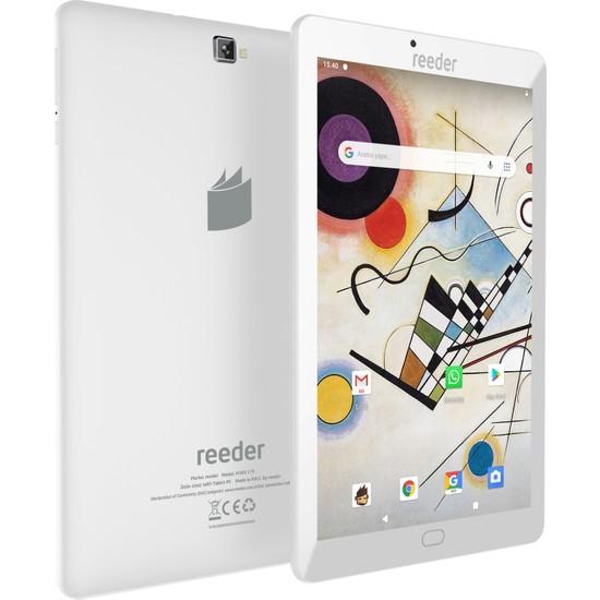 "Reeder M10S 8GB 10.1"" Tablet Beyaz"