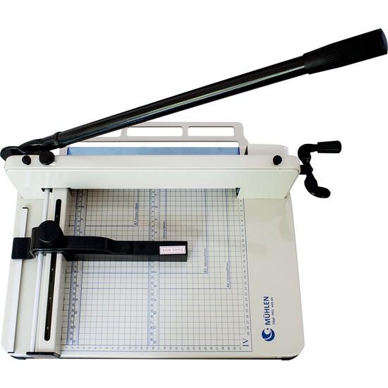 Mühlen Säge Pro 400 A4 Endüstriyel, Profesyonel Giyotin Makas Makinesi