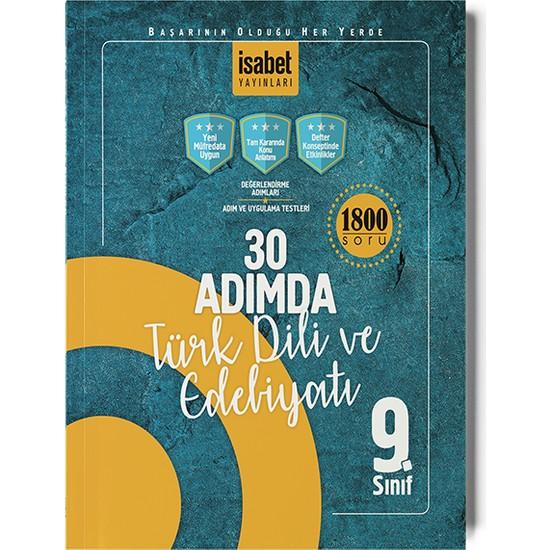 İsabet Yayıncılık 9. Sınıf 30 Adımda Türk Dili Ve Edebiyatı