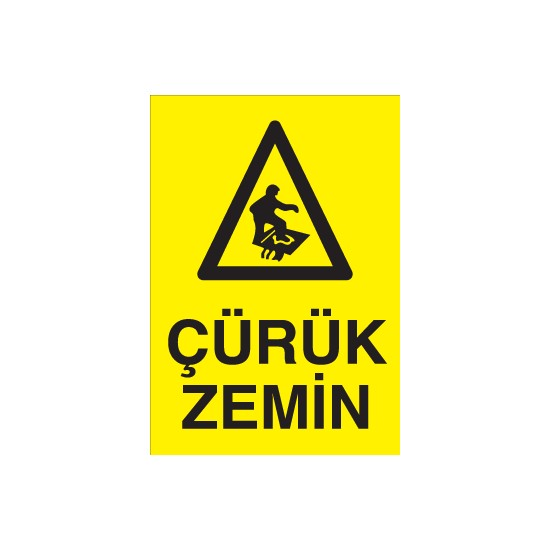 Canis Etiket Çürük Zemin Alüminyum