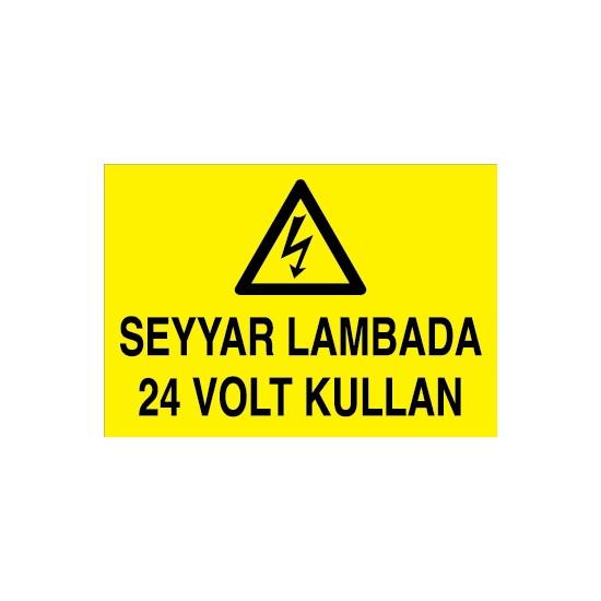 Canis Etiket Seyyar Lambada 24 Volt Kullan Alüminyum