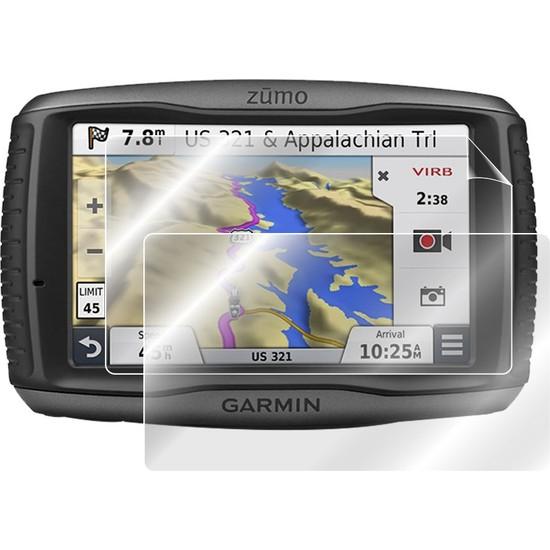 Ipg Garmin Zumo 590 / 590LM / 595 / 595LM 5 Inch Motosiklet Navigasyon Anti-Glare (Mat) Ekran Koruyucu (2 Adet)