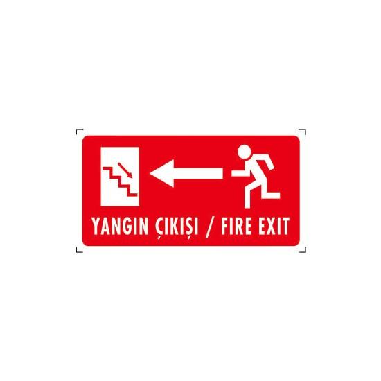 Yangın Çıkışı/fıre Exıt (Sol Yön)