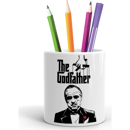 2K Dizayn Godfather Tasarım Seramik Kalemlik