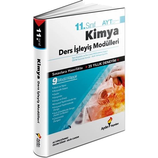 Aydın Yayınları 11. Sınıf Kimya Ders İşleyiş Modülleri