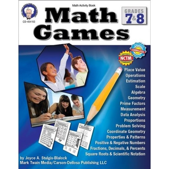 Math Games Gr.7-8