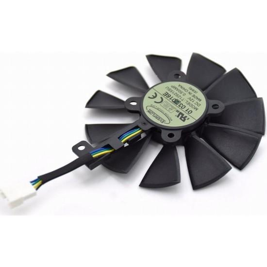 Everflow ASUS STRIX-GTX 980TI FAN T129215SU Ekran Kartı Fanı