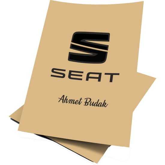 Baskı Life Kişiye Özel Baskılı Oto Seat Paspas Kağıdı 43 x 31 cm 100 Adet