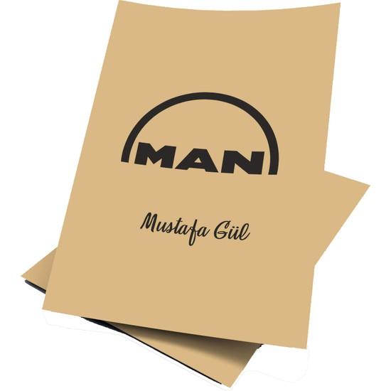 Baskı Life Kişiye Özel Baskılı Man Oto Paspas Kağıdı 43 x 31 cm 100 Adet