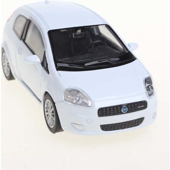 Welly Fiat Punto 1-36 Model Araba Beyaz