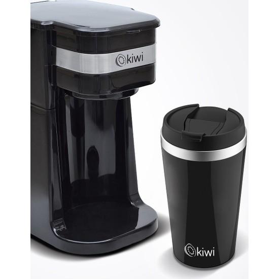 Kiwi Kcm 7505T Filtre Kahve Makinası Siyah