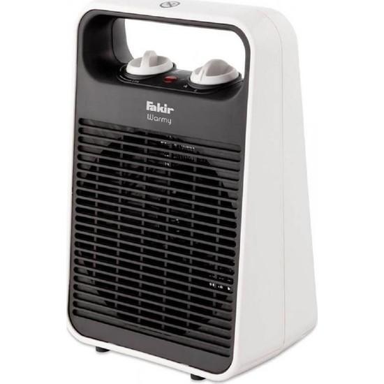 Fakir Warmy Twist 2000W Gri Elektrikli Fanlı Isıtıcı