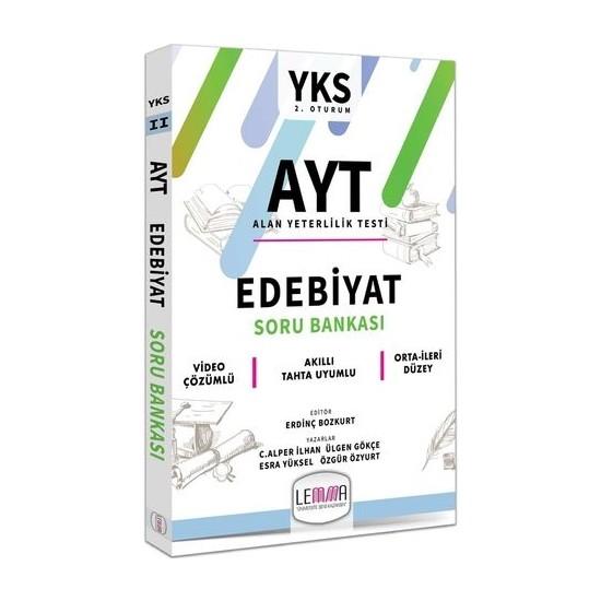 Lemma Yayınları 2020 Ayt Edebiyat Soru Bankası