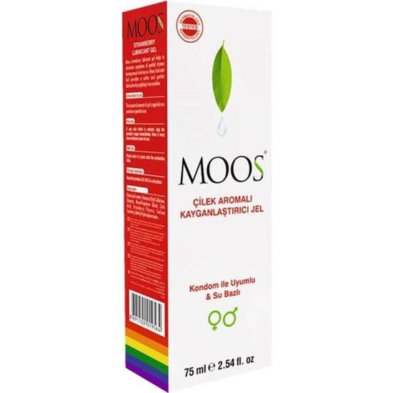 Moos Çilek Aromalı Jel 75 ml