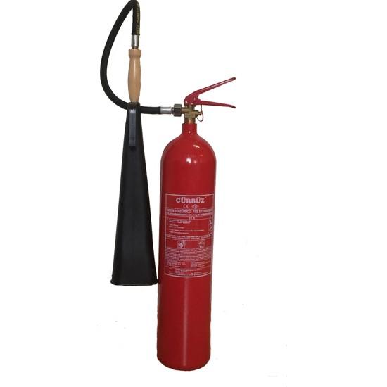Gürbüz Co2 (Karbondioksit)Yangın Söndürme Tüpü