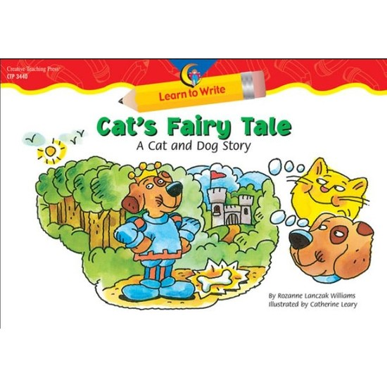Cat's Faıry Tale-A Dog And Cat Story, Learn To Wrı