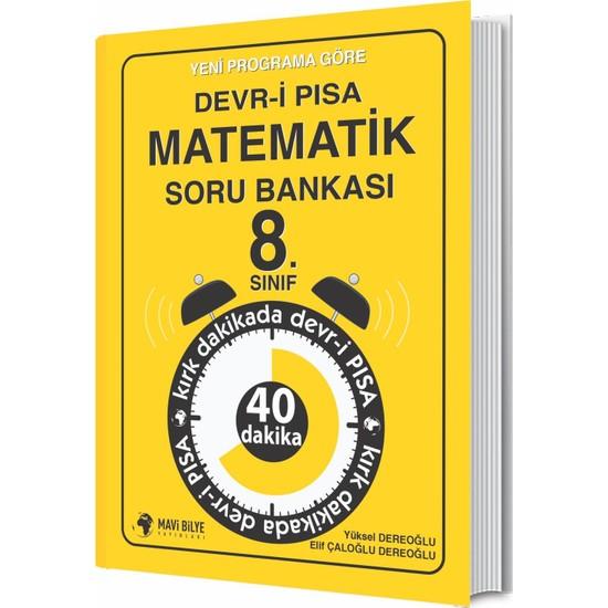 Mavi Bilye Yayınları Yeni Programa Göre Devr-İ Pısa Matematik Soru Bankası