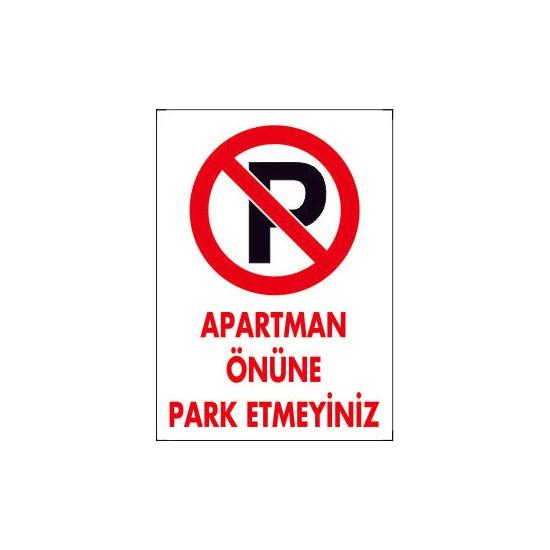 Dafne Yangın Apartman Önüne Park Etmeyiniz