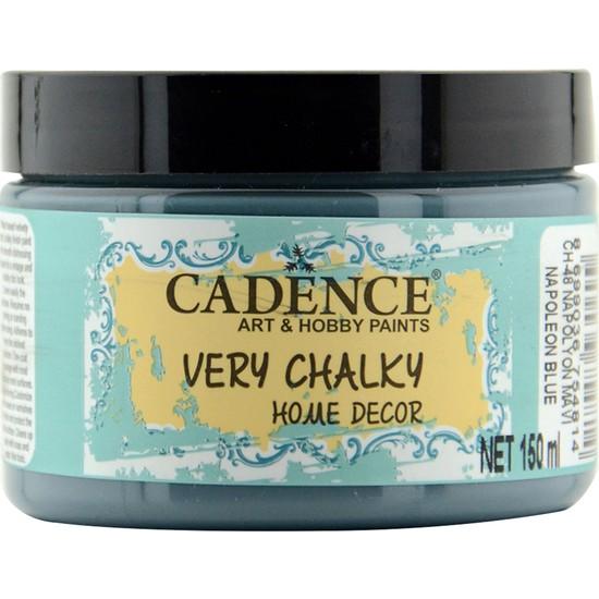 Cadence Very Chalky Mobilya Boyası 150 ml CH48 Napolyon Mavi