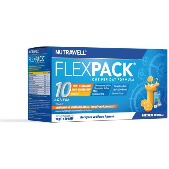 Flexpack Glutensiz Portakal Aromalı 30 Şase