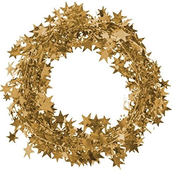 Kikajoy Metalik Ağaç Süsleme Garlandı Altın