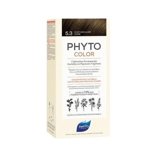 Phyto Phytocolor Bitkisel Saç Boyası 5.3 - Açık Kestane Dore