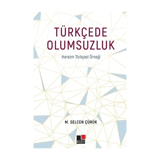 Türkçede Olumsuzluk