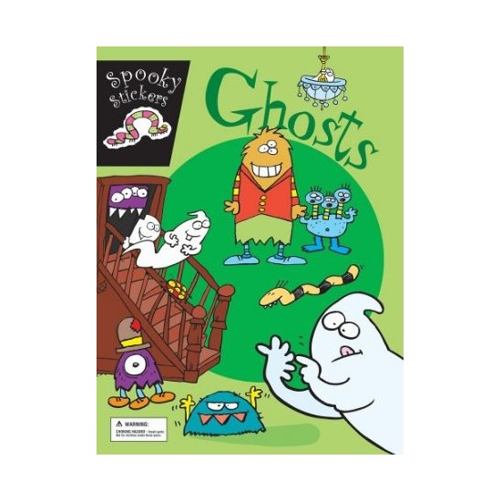 Spooky Stickers - Ghosts