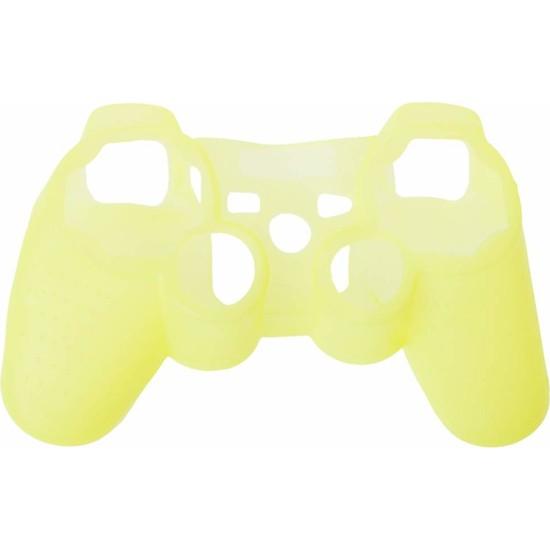 Dobe Sony PS3 Dualshock Joystick Silikon Kılıf Sarı