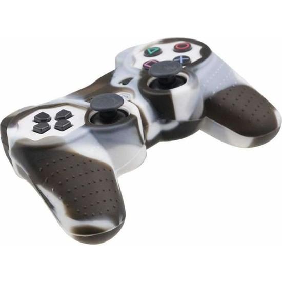 Dobe Sony PS3 Joystick Dualshock 3 Silikon Kılıf Kamuflaj Beyaz Kahve