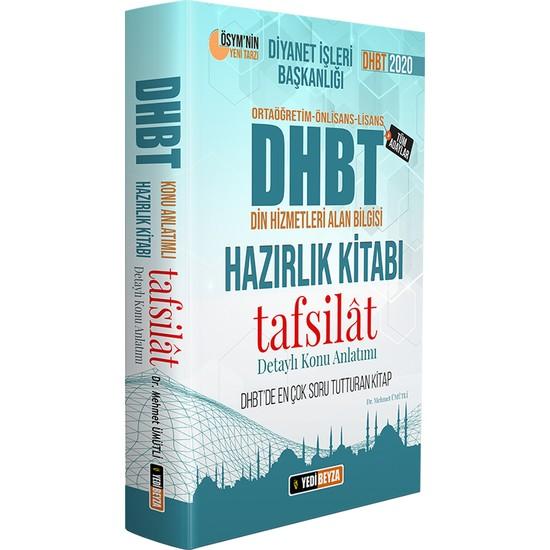 Yedi Beyza Yayınları DHBT 2020 Tafsilat Konu Anlatımlı Hazırlık Kitabı