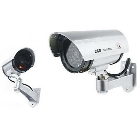 Esepetim Sahte Güvenlik Kamerası - Hırsız Caydırıcı Sahte Kamera! LED Işıklı!