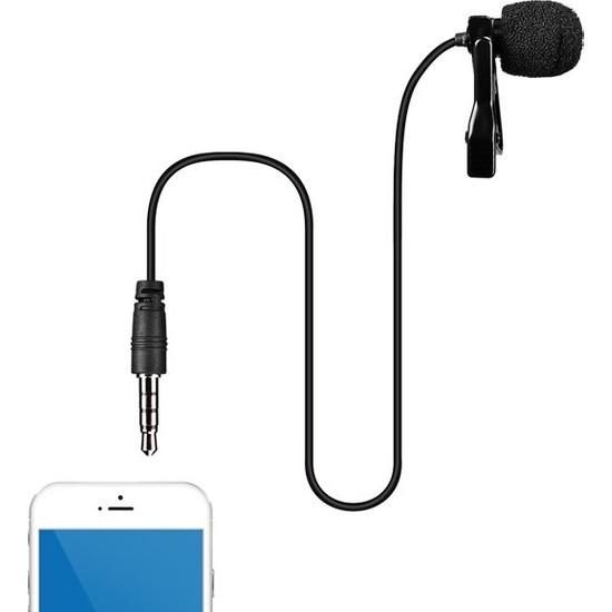 Comica CVM-V01SP 1.20 Metre Kablolu Yaka Mikrofonu