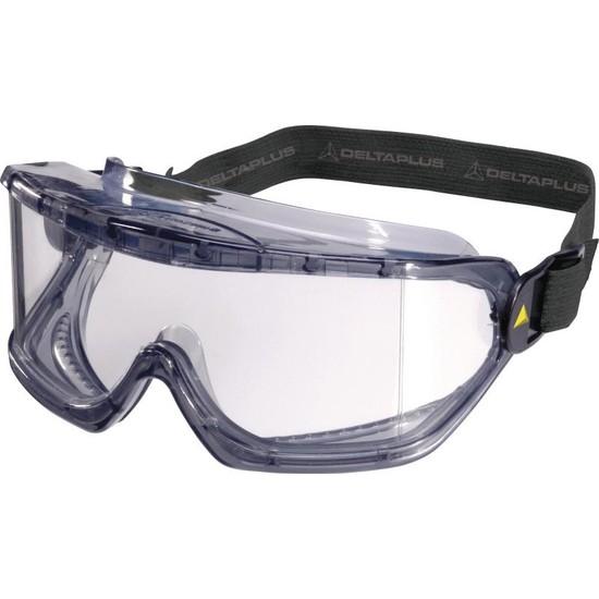 Delta Plus Galeras Şeffaf Koruyucu Goggle Gözlük / İş Gözlüğü