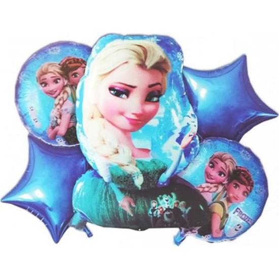 Kidspartim Frozen Beşli Folyo Balon
