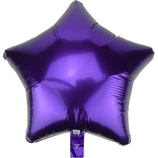 Kidspartim Yildiz Mor 18 inç Folyo Balon