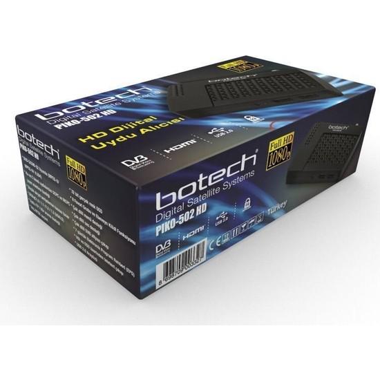 Botech PIKO-502 Full Hd Uydu Alıcısı 1080P