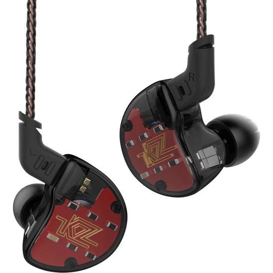 Kz ZS10 Hd ve 4 Ba Driver Kulak İçi Kulaklık - Siyah