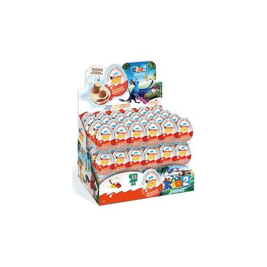 Ferrero Kinder Joy Sürpriz Yumurta Kız ve Erkekler Için 48'li 960 gr