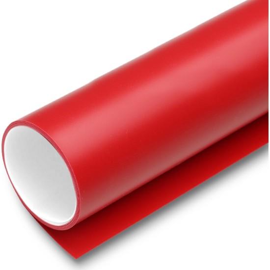 New Vision Plastik Profesyonel Stüdyo Fotoğraf Fonu Kırmızı ve Beyaz Renk