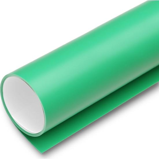 New Vision Plastik Profesyonel Stüdyo Fotoğraf Fonu Yeşil ve Beyaz Renk