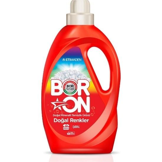 Boron Sıvı Doğal Renkler Doğal Mineralli Temizlik Ürünü 1690 ml