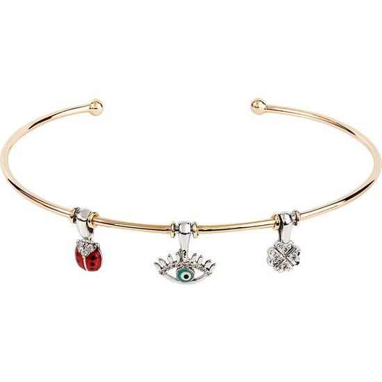 Clavis Jewelry Charmlı Bileklik 14 Ayar