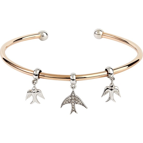 Clavis Jewelry Charmlı Bilezik 8 Ayar