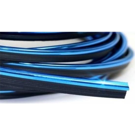CAR19 Fitilli Torpido Şerit Araç İçi İp Şerit 5 m Mavi