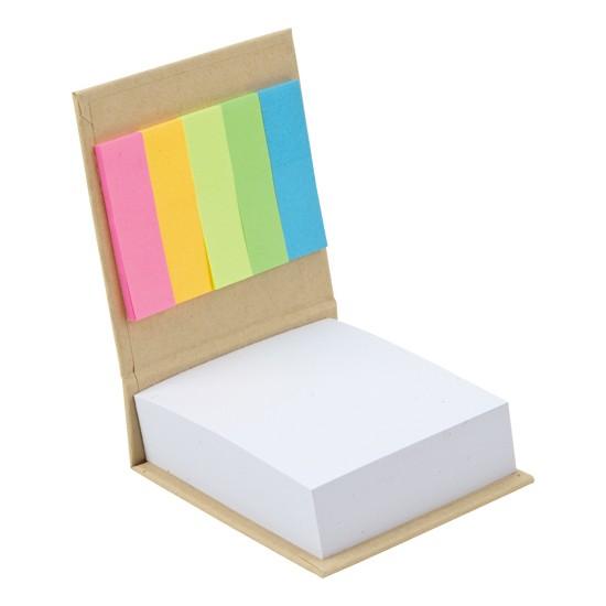 Ema Geri Dönüşüm Yapışkanlı Not Kağıdı Notluk Postit Renkli Belirteç
