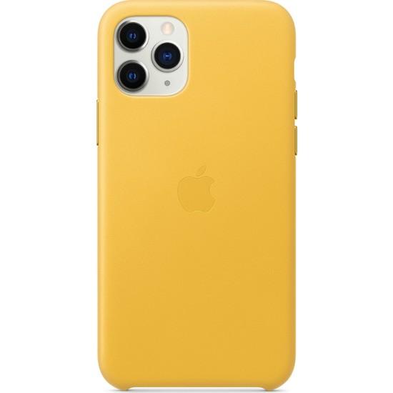 Apple iPhone 11 Pro Deri Kılıf Limon - MWYA2ZM/A