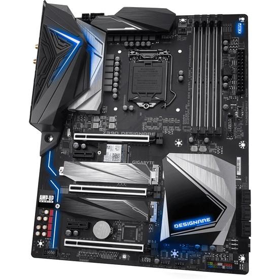 Gigabyte Z390 DESIGNARE Intel 1151 RGB ATX Anakart