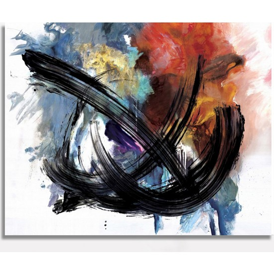 Decoizm Abstract Kanvas Tablo